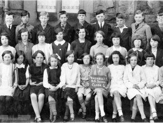 Penygelli Junior School, Coedpoeth 1930s