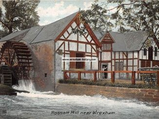 Rossett Mill Postcard 1906