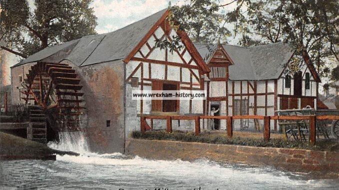 Rossett Mill Postcard 1906
