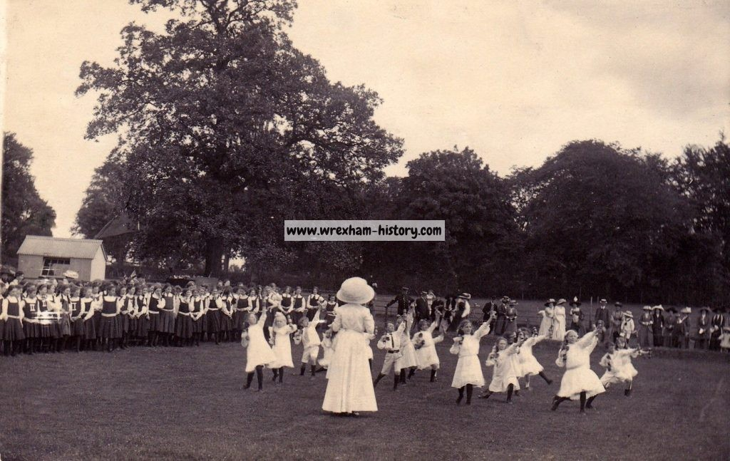 Ruabon School Sports Day 1910