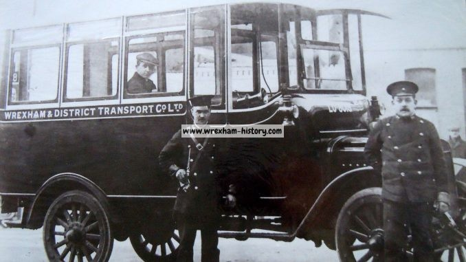 Wrexham and District Transport Bus 1918