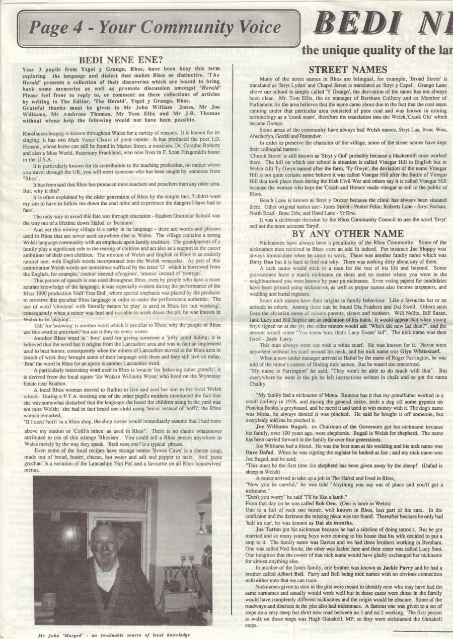 Herald (Rhos) April 1991