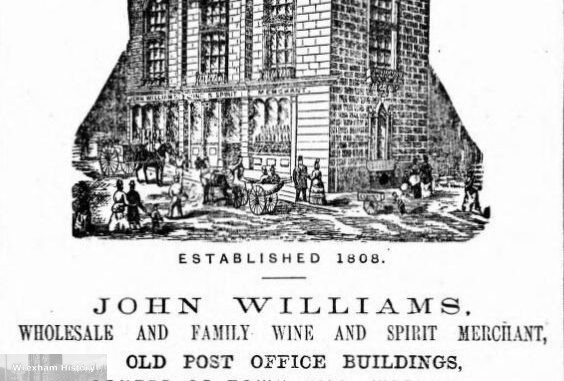 John Williams, Town Hill, Wrexham 1879