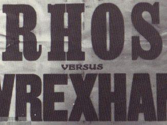 Rhos v Wrexham