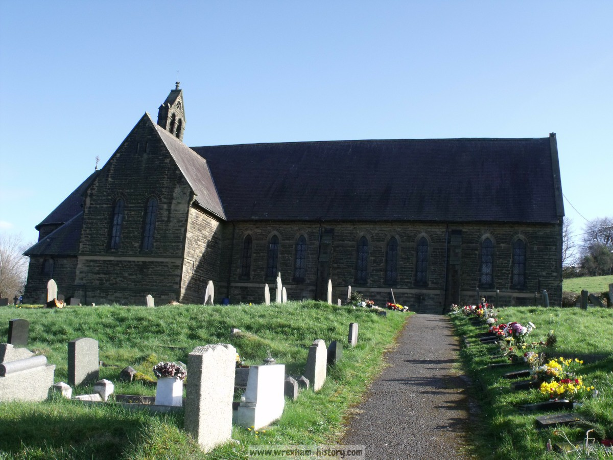 St Marys Church, Brymbo