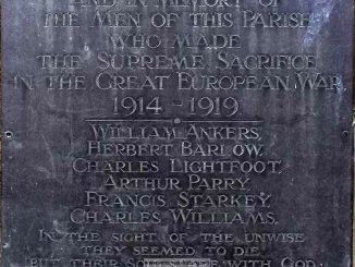 Bronington War Memorial