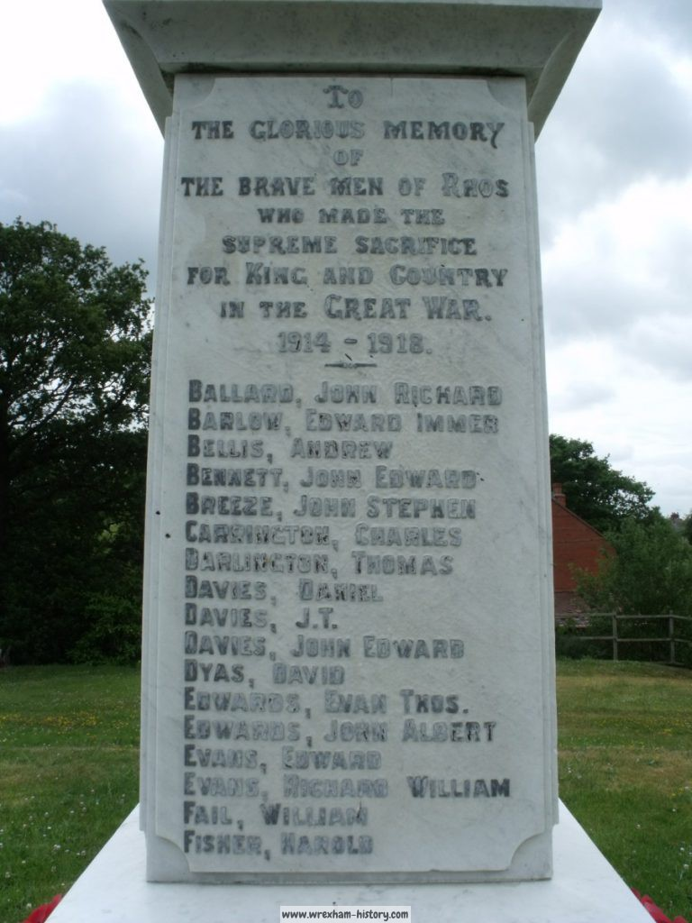 Rhos War Memorial