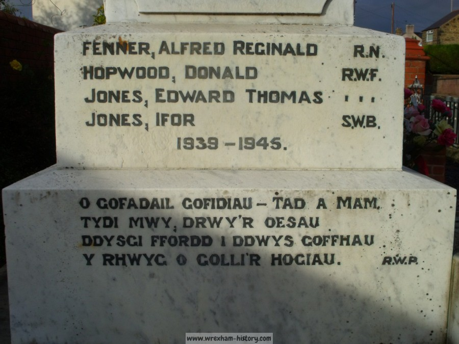 Penycae War Memorial