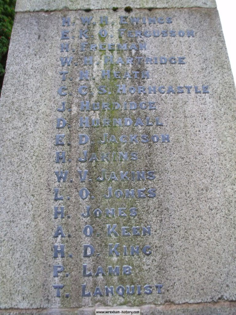 Lindisfarne War Memorial