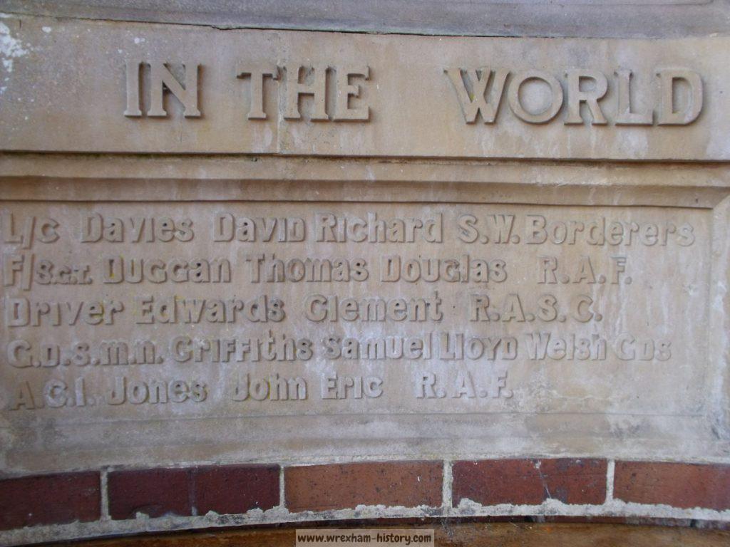 Garth Trefor War Memorial