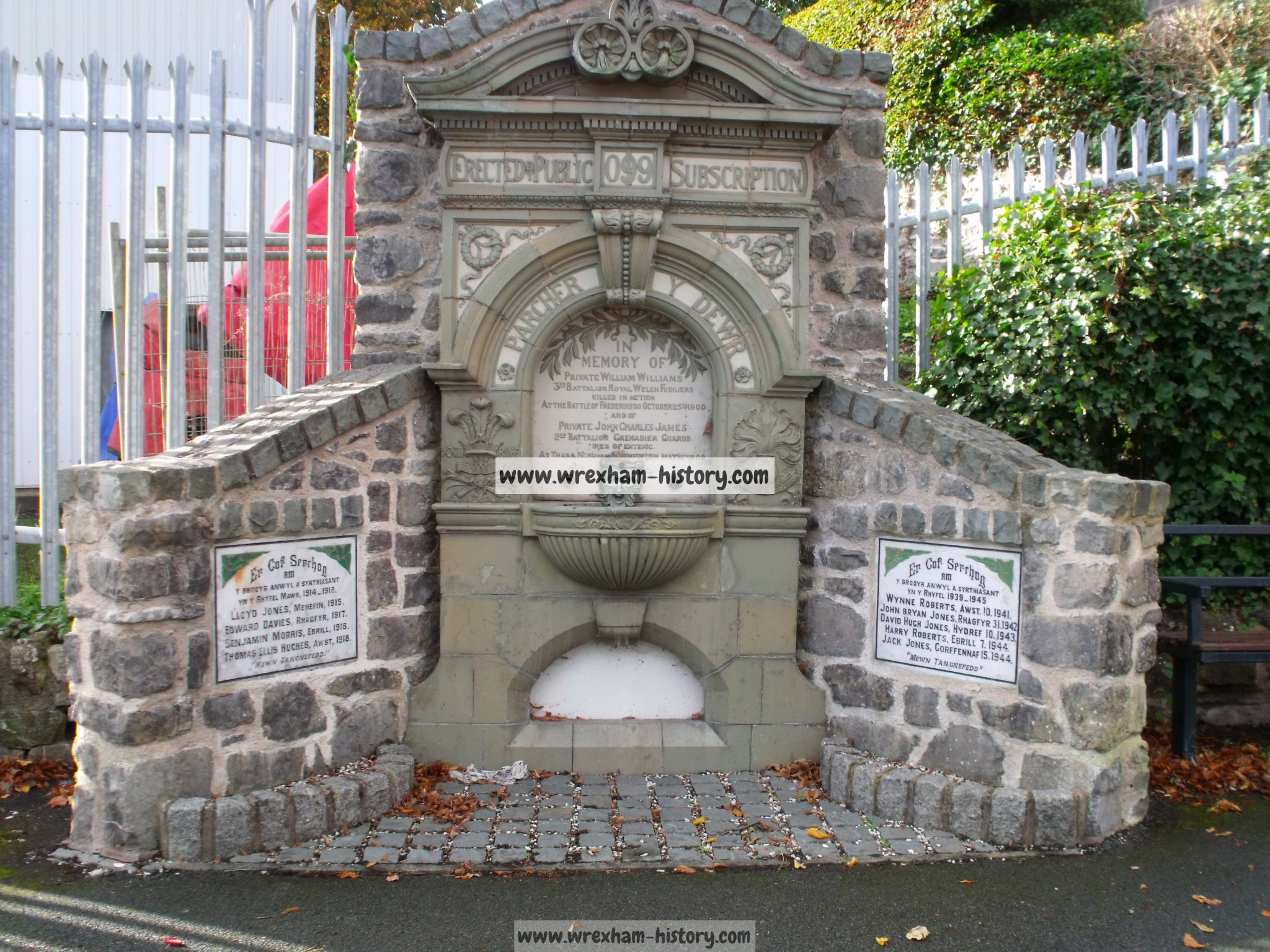 Froncysyllte Fountain War Memorial