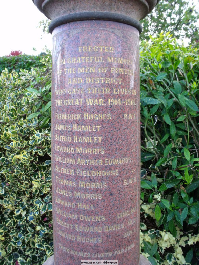 Pentre War Memorial