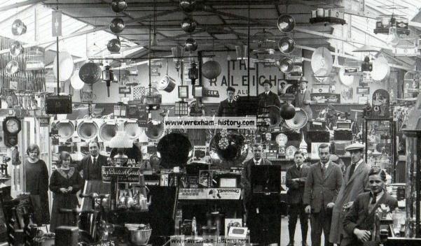 Interior Walter Roberts store