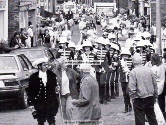 Carnival Day at Rhos c1984