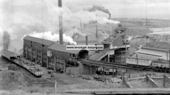 Brymbo Steelworks in 1964