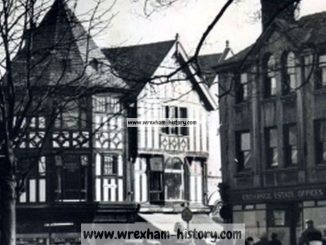 Queens Square, Wrexham late 1950s