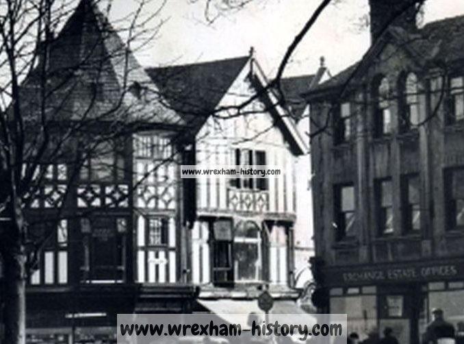 Queens Square, Wrexham late 1950s