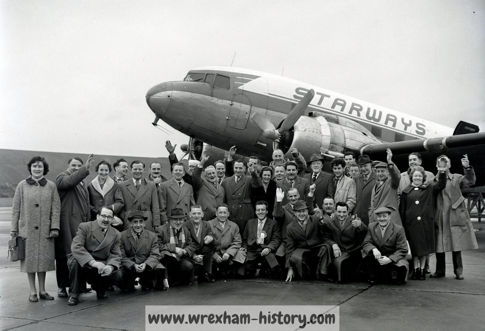 Wrexham FC fans 1962