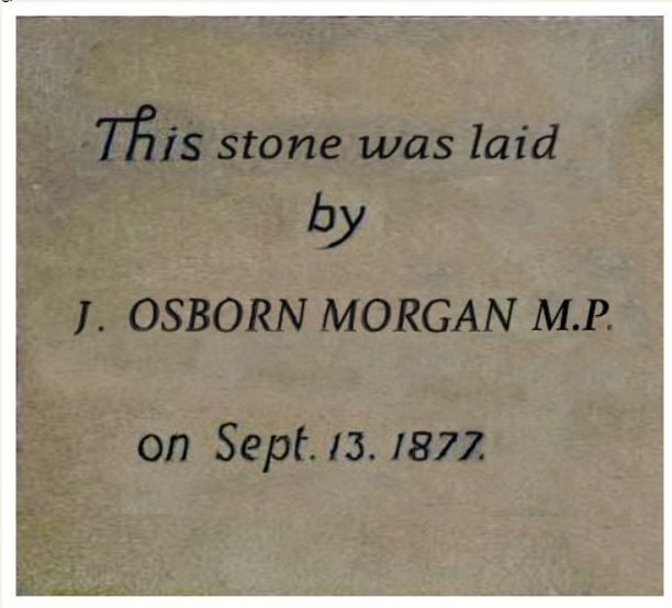 MORGAN DATE STONE.JPG